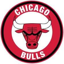 3 Longer Side Chicago Sport Head Logo Vinyl Sticker Decal Set of 3 Pieces Bulls Basketball