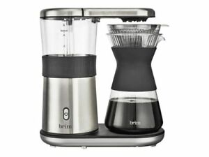 brim Pour Over Coffee Maker 8 Cups Automatic Coffee, Stainless Steel ZZZ50011
