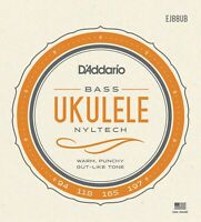 D'Addario EJ88UB Nyltech Ukulele Bass Uke Strings
