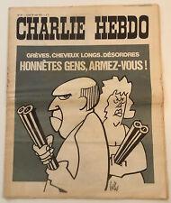 CHARLIE HEBDO n°27 ¤ 1971 ¤ Couv GEBE / WOLINSKI / REISER