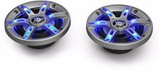 Car Audio Speakers System LED 6.5 Inch Blue LED Light Effect 800W Pair Amplifier