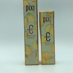 Pixi+C Brightener SkinPerfecting Cream .8 oz & Pixi +C UnderEye Brightener.4oz