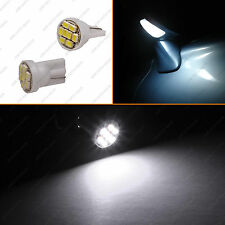 2 - 168 Super Bright White Puddle Under Side Mirror T10 Wedge LED Light Bulb