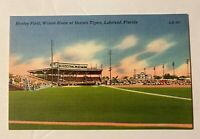 Vintage Henley Field Lakeland Fla Winter Home Of The Detroit Tigers Post Card