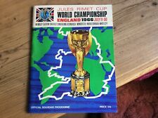 More details for world cup 1966 programme and ticket