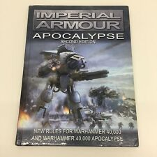WARHAMMER 40,000 FORGE WORLD IMPERIAL ARMOUR APOCALYPSE SECOND EDITION BOOK