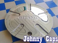 GITANO Wheels [32] Chrome Center Caps # C-531 Custom Wheel Center Cap (1)