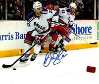 Dan Boyle autographed signed 8x10 photo NHL New York Rangers