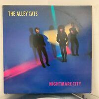 ALLEY CATS Nightmare City LP 1981 Time Coast ORIG US PRESS EX / VG+