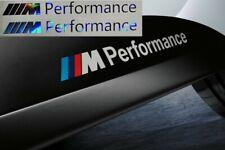 2x M Performance Oilslick Aufkleber Hologramm Power 134mm silber BMW M Power M