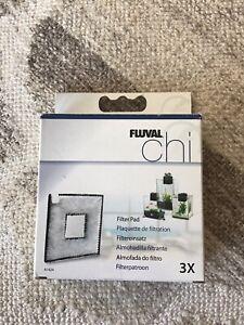 2 Pack Fluval Chi Aquarium Replacement Filter Pads A1424 NIB FREE SHIP Fish