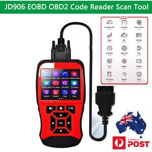 JD906 EOBD OBD2 Scanner Car Engine Fault Code Reader Diagnostic Scan Tool AUShip