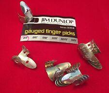 "Original Vintage JIM DUNLOP finger picks - NACHFÜLLSATZ Stärke .013"" - 20 Stück"