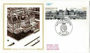 2587++FDC ENVELOPPE 1er JOUR     1989    CHATEAU DE VAUX LE VICOMTE