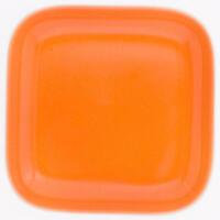 Kahla Abra Cadabra Deckelchen Eckig Deckel Porzellan Orange 10 cm