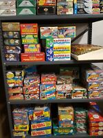 Old Baseball Cards 200 lot Unopened Vintage in Wax Cello Rack Packs Bonus gifts