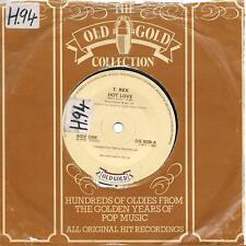 "T. Rex Hot Love / Ride A White Swan UK 45 7"" single +Ride A White Swan"