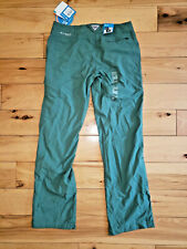 """Womens Columbia PFG Green Pants Outdoors Size 6 New NWT 32"""" Inseam"""