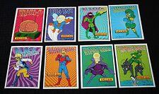 The Simpsons Bart Simpson Skybox Raidioactive Man Trading Cards 1994