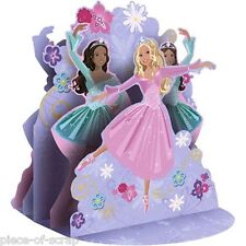 "Barbie Birthday Party centerpiece decoration 12"" New Ballet Dancing Cake Topper"