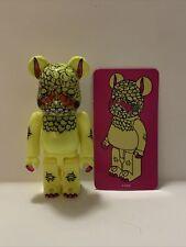 Medicom Bearbrick Series 33 Artist Dan Yellow Monster 100%
