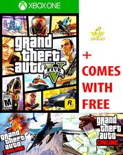 NEW Grand Theft Auto V 5 For The Microsoft Xbox One 1 + S GTA ONLINE GTAV GTA5
