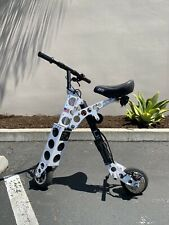 Urb-E Sport - Folding Electric Vehicle/Scooter/Bike - Lightly Used - White 14mph