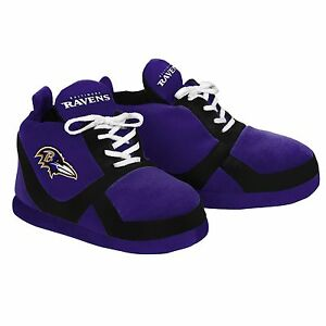 Baltimore Ravens Colorblock Slippers - NEW - FREE U.S.A. SHIPPING - 15