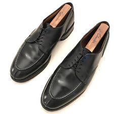 "$385 ALLEN EDMONDS ""Bradley"" Black Leather Dress Shoes - Size 9.5 C - Split-Toe"