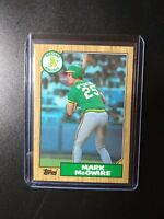 1987 Topps Mark McGwire Rookie RC #366