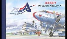 Jersey 2012 histoire de l'aviation carnet de prestige neuf ** 1er choix
