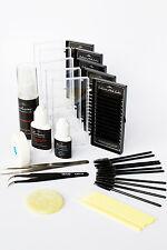 Exclusive Starter Eyelash Extension Kit C Curl Individual Semi Permanent Lashes