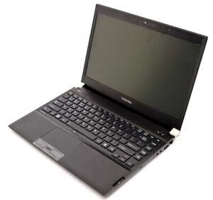 """Toshiba R700 13.3"""" Laptop. i3-M350 2.27Ghz, 4Gb RAM, 500Gb HDD, Windows 10 -1"""