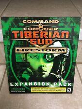 Command & Conquer: Tiberian Sun – Firestorm (PC, 2000) Original Big Box - New!