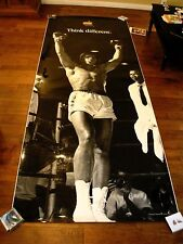 Muhammad Ali Think Different Poster 12ft x 4ft ULTRA RARE Apple Computer