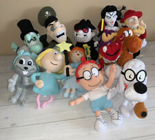 Huge Stuffins Plush Lot Of 12 Different Rocky & Bullwinkle Friends Characters