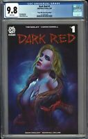 Dark Red #1 CGC 9.8 Maer TRADE Variant COMIC MINT Cover ANNIVERSARY Edition