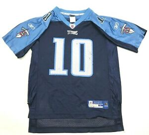 Reebok Vince Young Tennessee Titans Football Jersey Youth Size Large 14 - 16 NFL