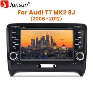 For AUDI TT MK2 8J 2006-2012 2 Din Car Radio GPS Sat Nav Stereo CD USB Bluetooth
