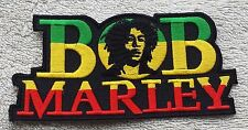BOB MARLEY PATCH Cloth Badge/Emblem/Insignia Biker Jacket Bag Rasta One Love Jah