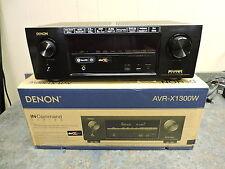 Denon AVR-X1300W 7.2 Ch Full 4K Ultra HD Network A/V Receiver Wi-Fi Bluetooth