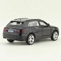 Bentley Bentayga Off-road 1/45 Model Car Diecast Gift Toy Vehicle Kids Black