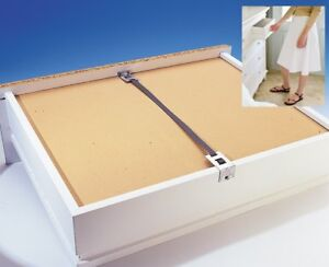 Drawer Repair Kit Fix Mend A Sagging Broken Draw Base Bedroom Furniture 4 Pack