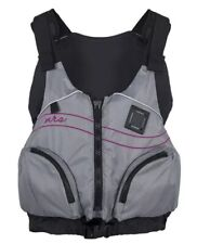 NRS Adult Women's Zoya Paddling Sailing Vest PFD Large XL Life Jacket Gray NWT!