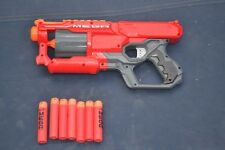 NERF GUN GENUINE MEGA CYCLONE SHOCK EXC CONDITION INCLUDES AMMO TOY OUTDOOR