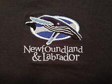 Vintage Newfoundland & Labrador Embroidered T Shirt Medium