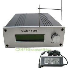 CZE-T251 0-25W 20w 25w  FM stereo broadcast transmitter+DP100 dipole antenna kit