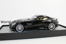 MINICHAMPS 107032520 BRABUS 600 sur base Mercedes AMG GT S 2015 Black 1:18