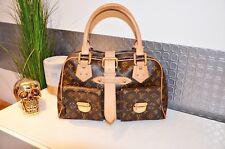 Louis Vuitton borsa Manhattan GM di cuoio NP. 1.840 € In Marrone