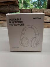 New Mpow Bluetooth Headphones Hi Fi Stereo Wireless Foldable Bh059A